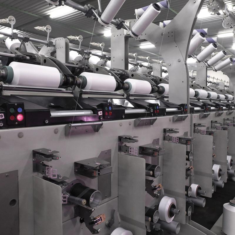 Anwendungsbeispiel Textilmaschinenzubehör