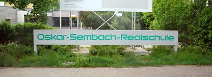 Die OSR - Oskar-Sembach-Realschule in Lauf