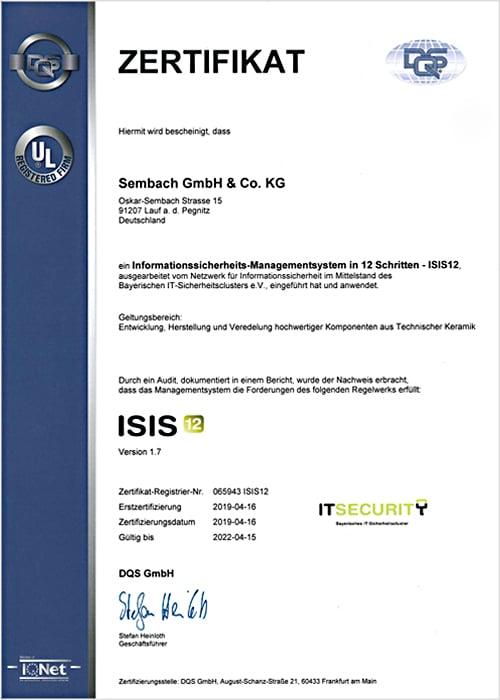 sembach-zertifikat-isis12